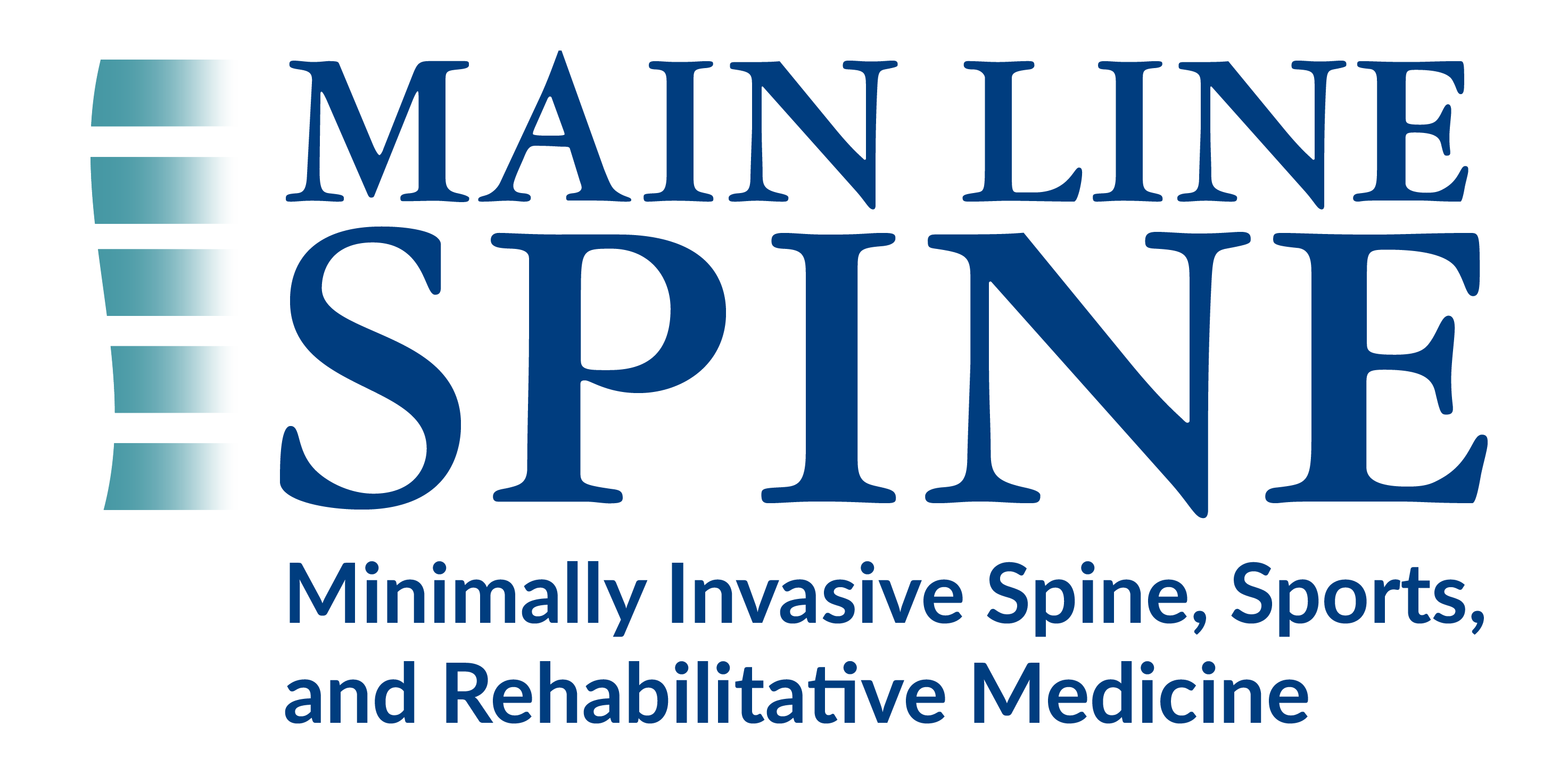 Main Line Spine Logo: Minimally Invasive Spine, Sports and Rehabilitation Medicine