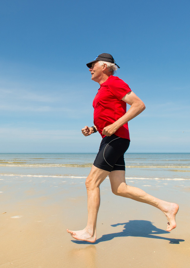 Restoring the Quality of Your Life - Running on the Beach