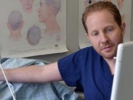 Examination by Dr. Scott Davidoff