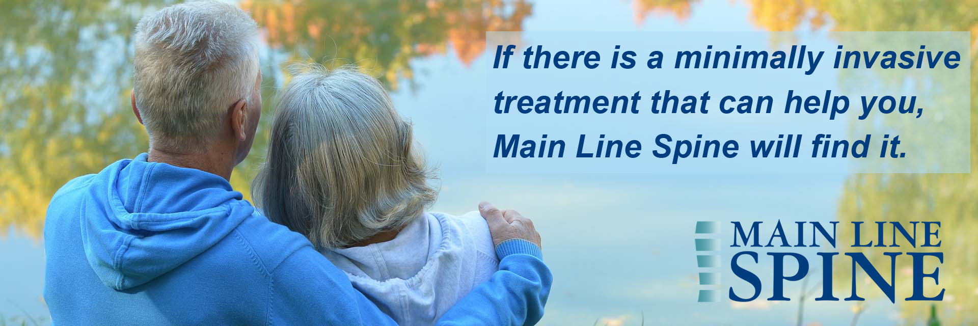 Main Line Spine Will Help You Find It - Couple Relaxing
