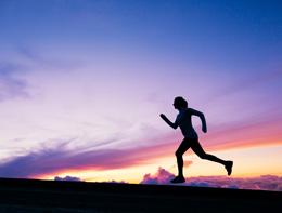 Female Patient Running