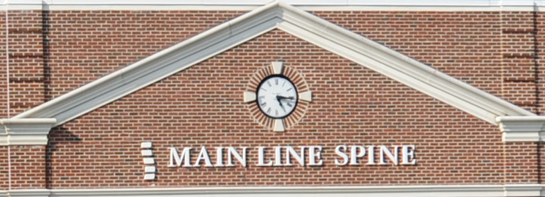 Main Line Spine's Clock at King of Prussia
